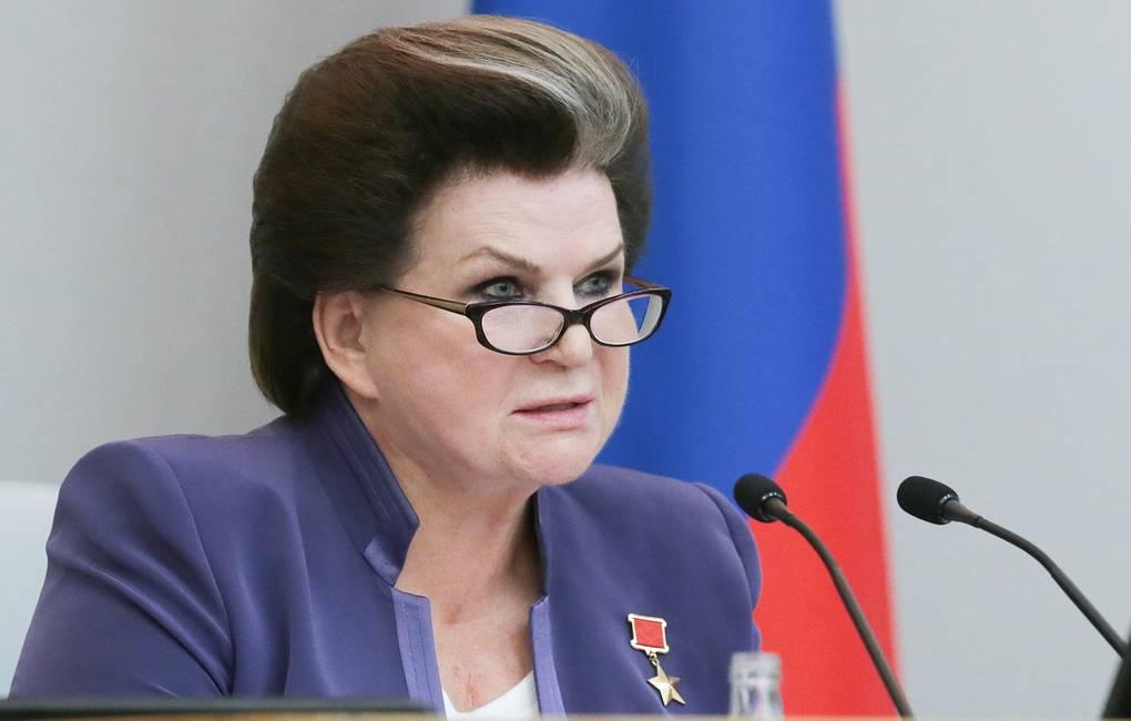 Валентина Терешкова предложила снять ограничения с президентских сроков Владимира Путина