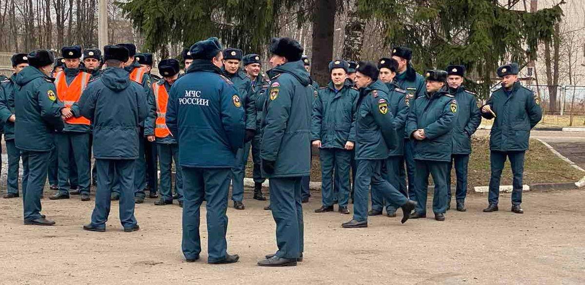 В ярославской поликлинике прошли пожарно-тактические учения: видео
