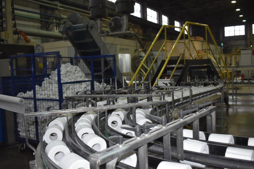 Около 600 млн. рублей вложили в расширение производства бумажно-гигиенических изделий в Ростовском районе