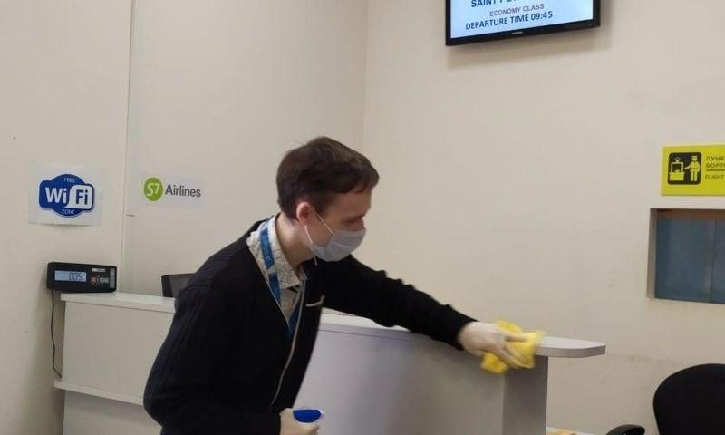 В ярославском аэропорту усилили борьбу с возможным распространением коронавируса