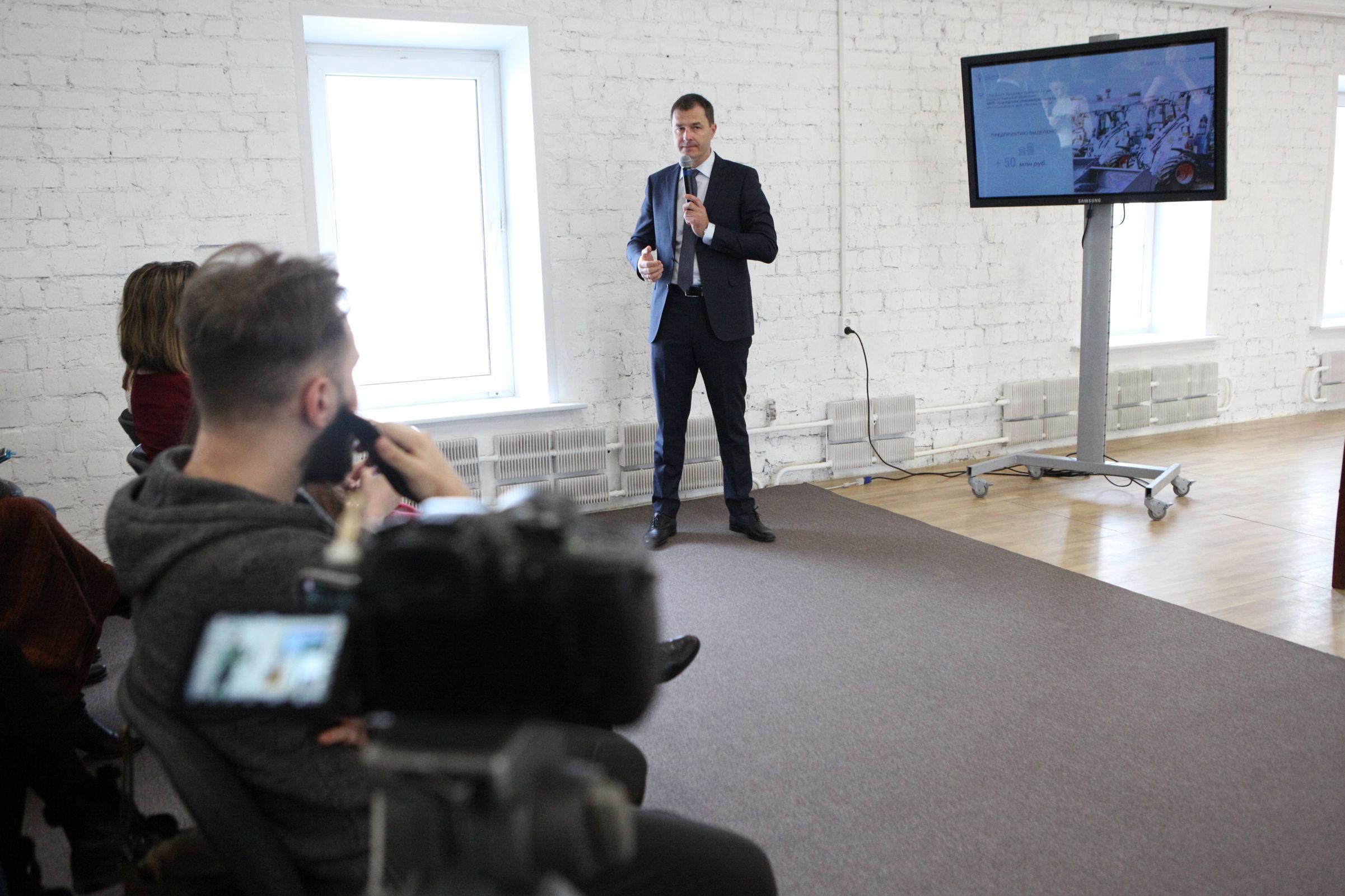 Владимир Волков прокомментировал оценку, которую поставил ему губернатор
