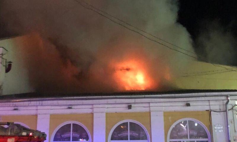 В центре Ярославля горело кафе