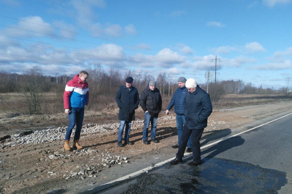 В Ярославской области начали проверку качества ремонта гарантийных дорог