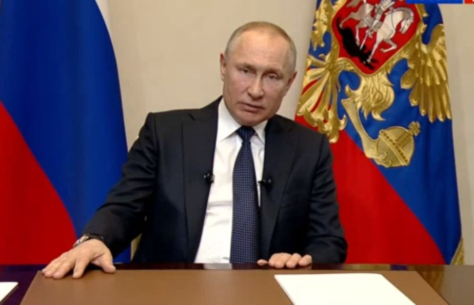 Владимир Путин сообщил, что следующая неделя будет нерабочей