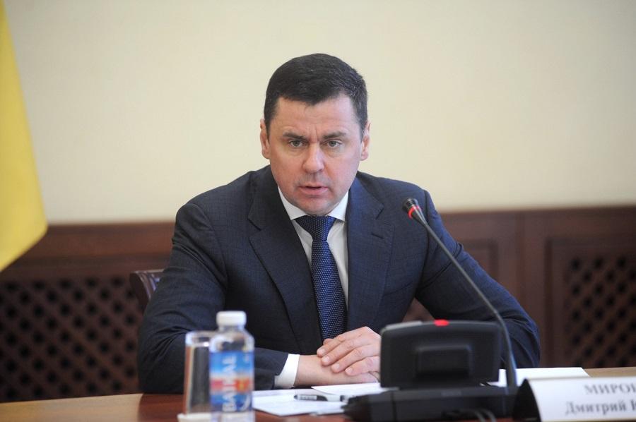 Дмитрий Миронов ввел новые меры для предотвращения распространения коронавируса в Ярославской области