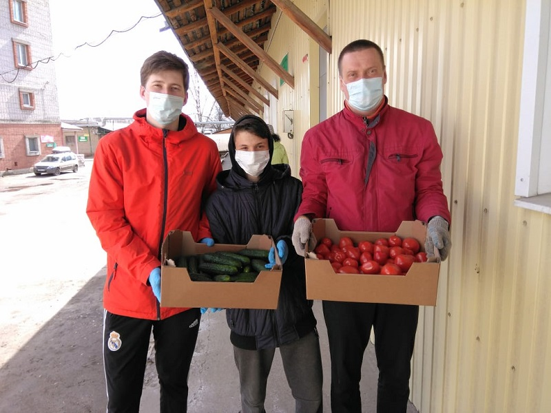 Гуманитарную помощь передали в многодетные семьи Ярославской области