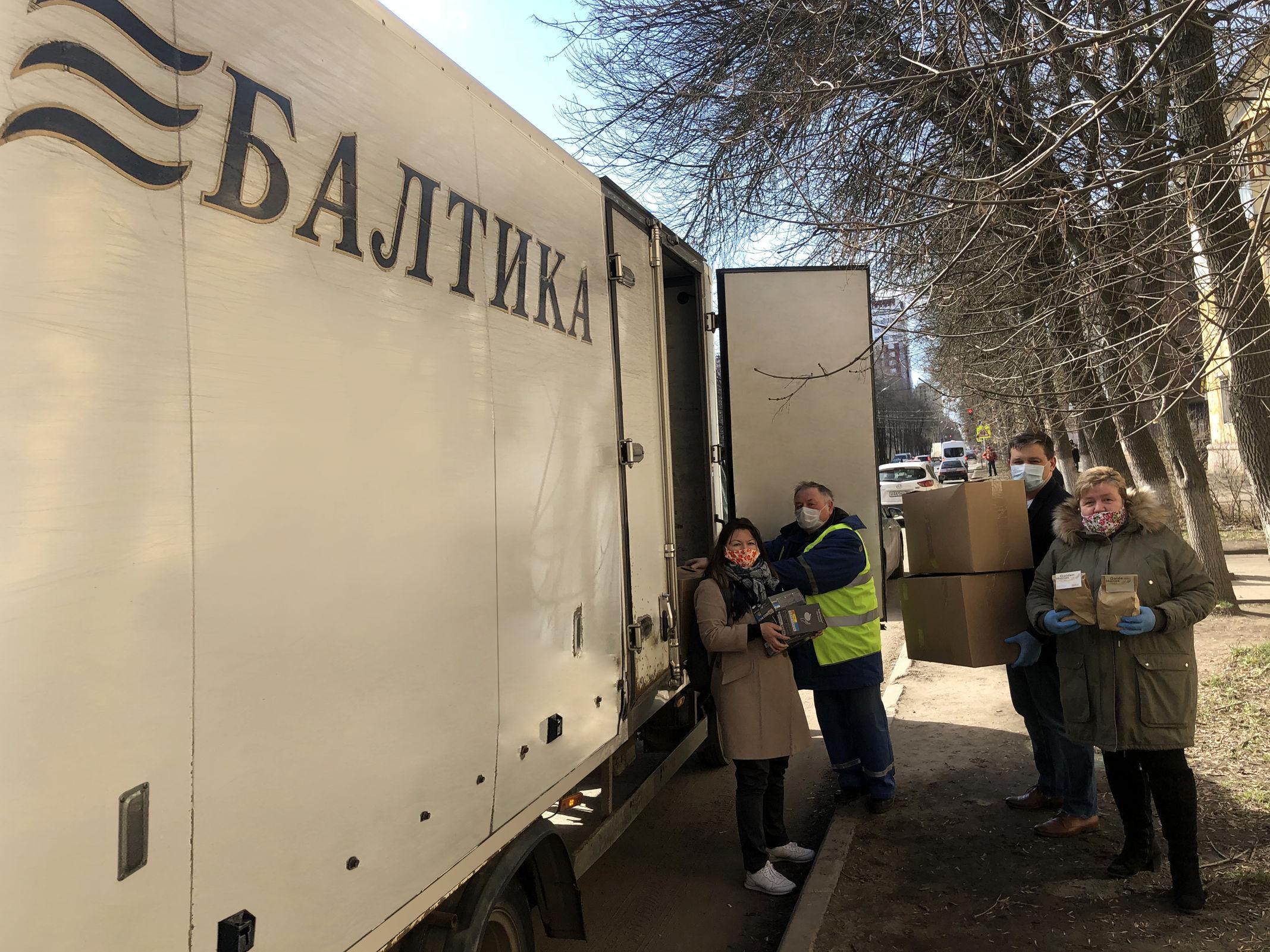 «Балтика» в партнерстве с «Фондом милосердия и здоровья» обеспечат санитарно-гигиеническими изделиями и продуктами ярославские дома-интернаты для престарелых и инвалидов