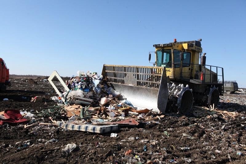 Собственников полигонов будут штрафовать за нарушение требований противопожарной безопасности при захоронении отходов