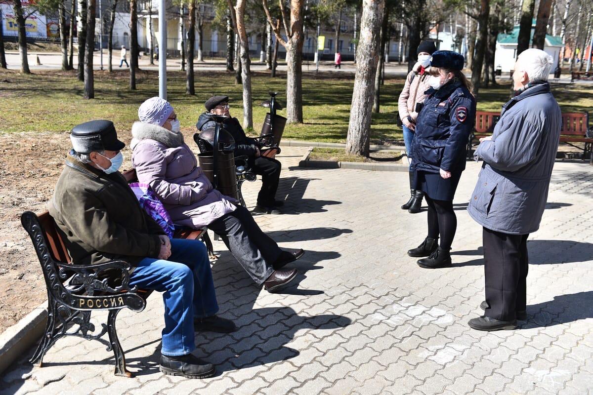 В Ярославле полицейские проверили традиционные места массового отдыха жителей