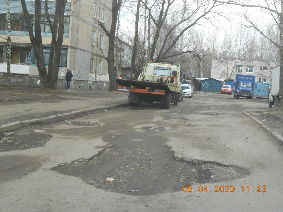 В Ярославле прокуратура через суд требует отремонтировать Архангельский проезд