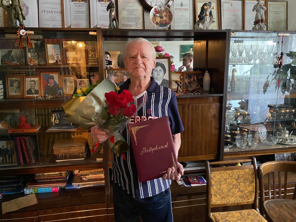 В Ярославле 92-й день рождения отмечает ветеран, прослуживший 30 лет в органах госбезопасности