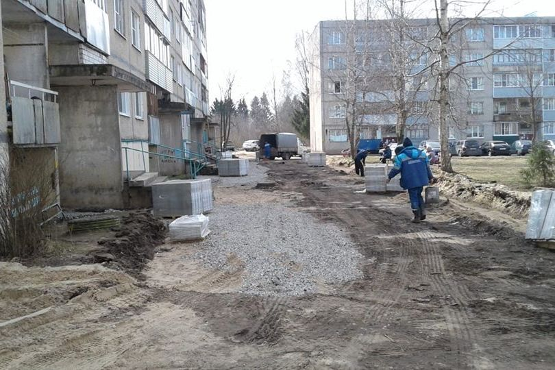 Общественную территорию в поселке Тихменево обустроили в рамках нацпроекта