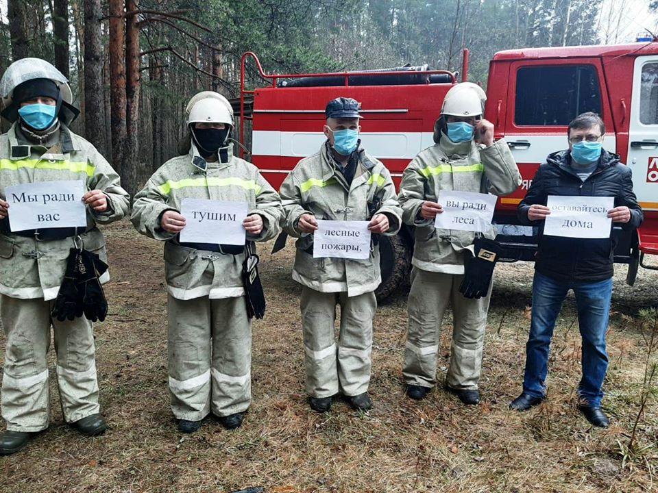 Ярославские сотрудники лесного хозяйства приняли участие во Всероссийском флешмобе
