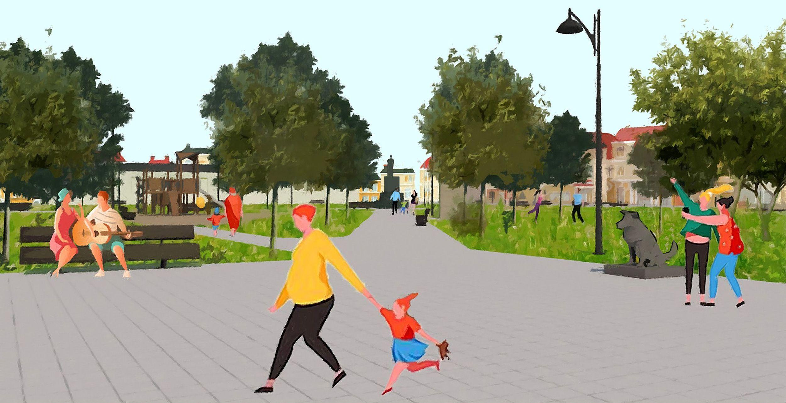 Концепция меняет жизнь. В Данилове начали улучшать городскую среду