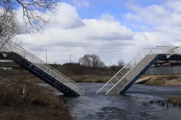 Специалисты приступили к исследованию конструкций моста в поселке Борисоглебский