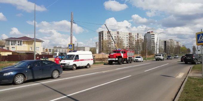 В Рыбинске парень на иномарке сбил пенсионера на переходе