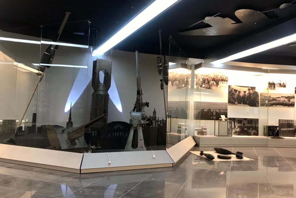 Новая экспозиция Музея боевой славы создана с использованием цифровых технологий