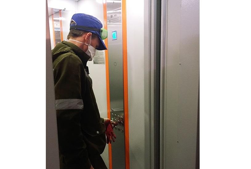 Ремонт лифтов ведется во всех домах, включенных в план 2020 года
