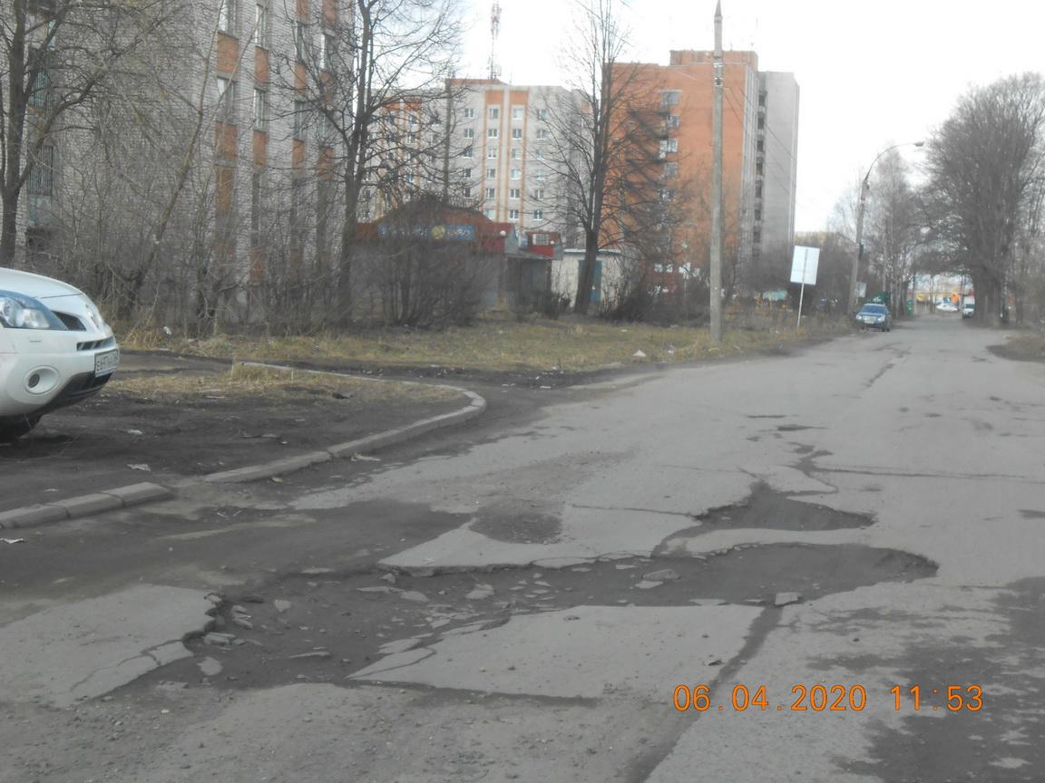 В Ярославле прокуратура потребовала отремонтировать улицу в Дзержинском районе