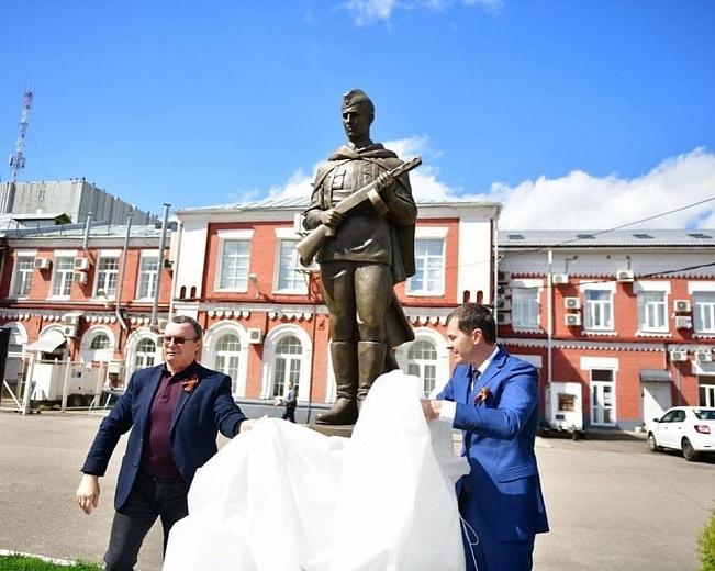 В Ярославле открыли новый памятник участникам Великой Отечественной войны