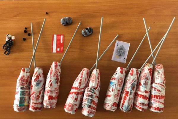 В ярославскую колонию пытались перебросить запрещенные предметы и литры спиртного