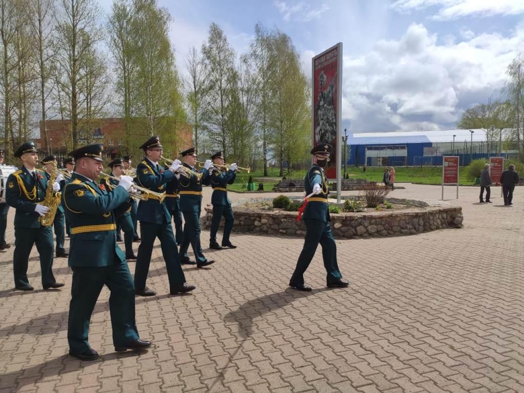 Имена воинов-освободителей увековечены в Парке Победы в Переславле-Залесском