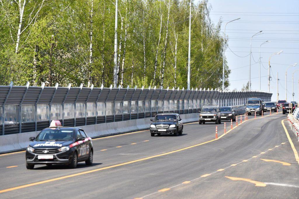 На Добрынинском путепроводе в Ярославле открыли сквозной проезд