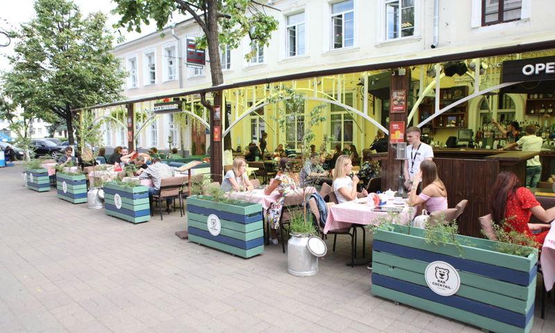 В Ярославле отменили арендную плату для летних кафе