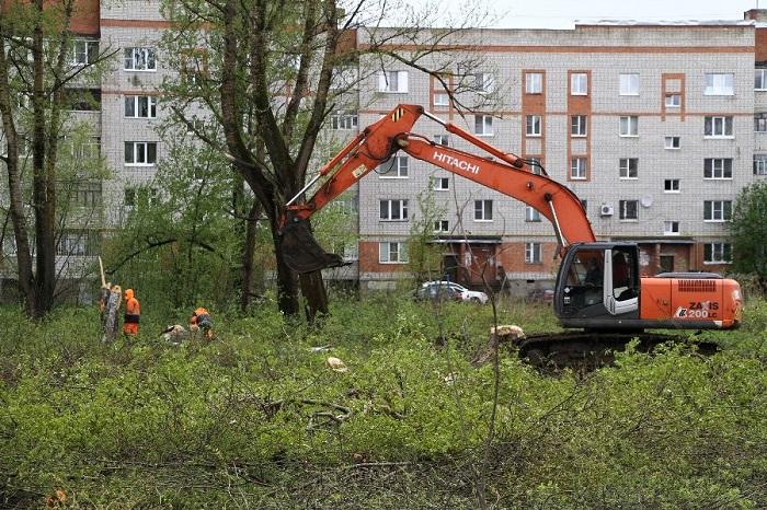 В Рыбинске начинают строить детский сад и ясли