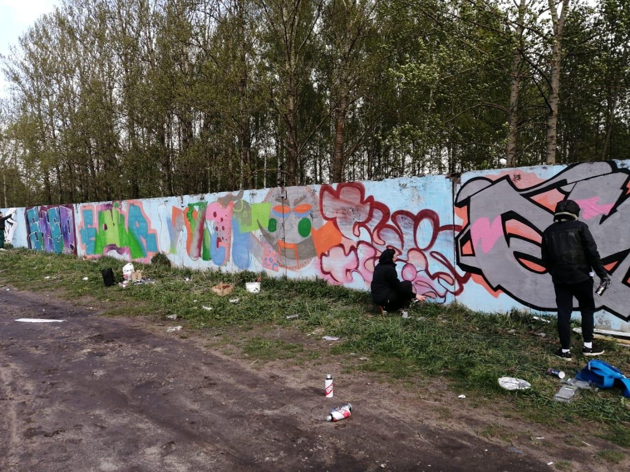 Ярославским уличным художникам разрешат раскрашивать стены зданий