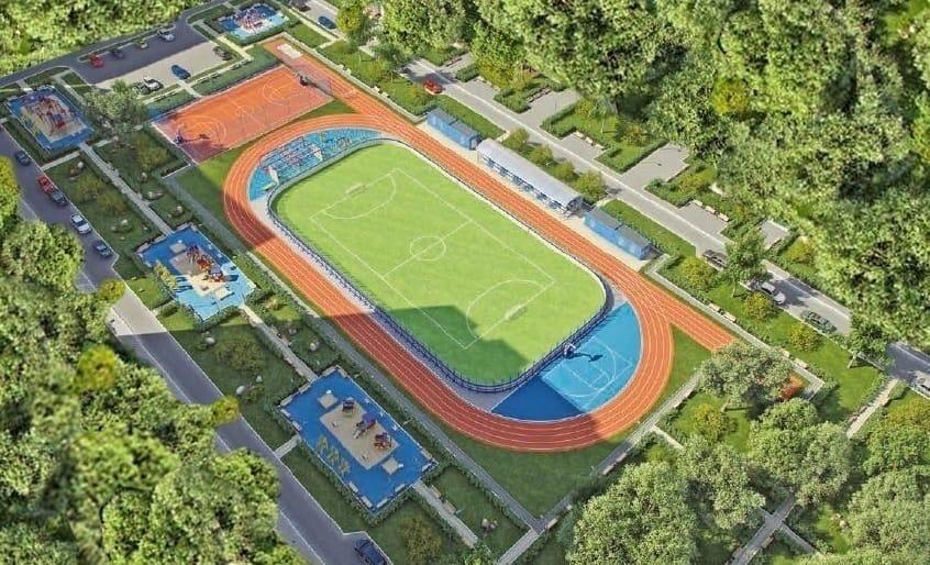 В Ярославле на стадионе «Каучук» начали строить новый физкультурно-оздоровительный комплекс