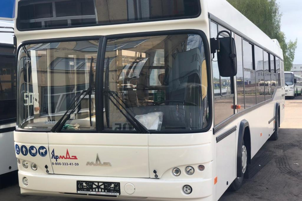 В Ярославской области закупили новые автобусы для пассажирских перевозок
