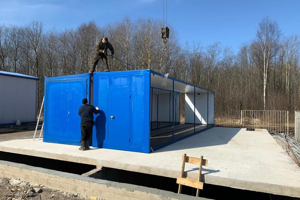 На полигон «Скоково» под Ярославлем поступает оборудование для станции по очистке фильтрата