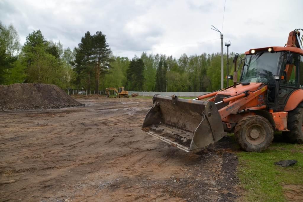 В Ярославле началось строительство современного ФОКа открытого типа