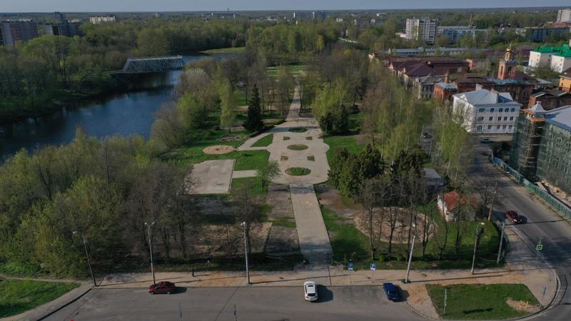 В Рыбинске городской сквер сдали в аренду: как его преобразят