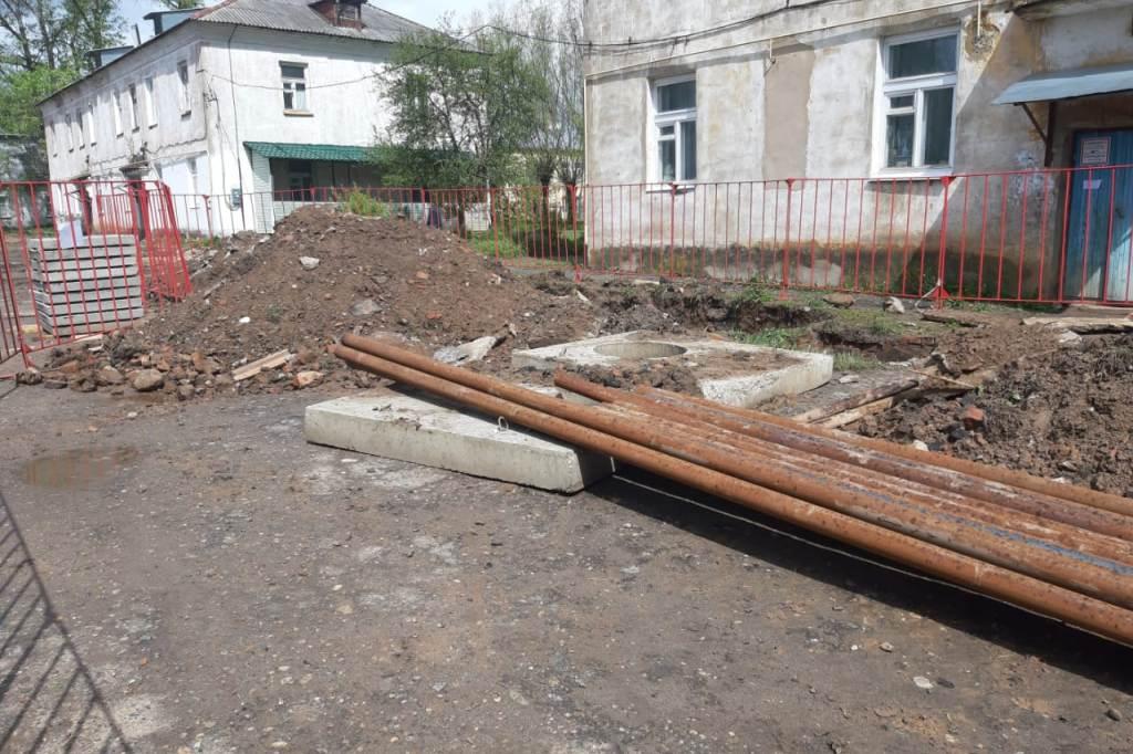 Благоустройство дворов и общественного пространства проведут в Данилове в рамках нацпроекта