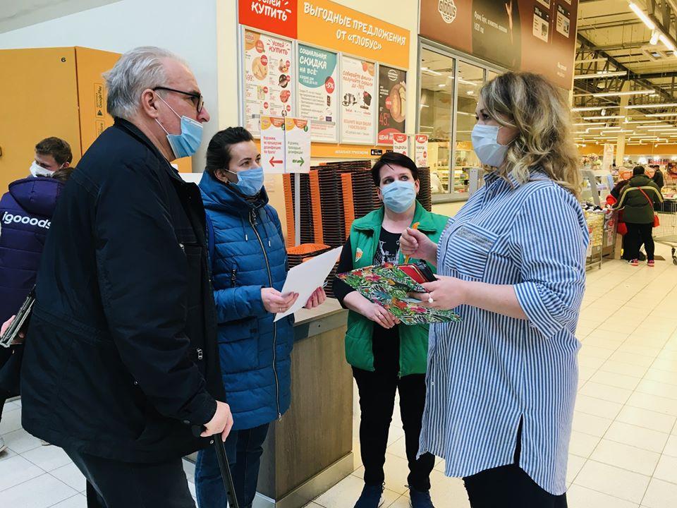 В ярославских супермаркетах появились «тележки добра» для нуждающихся