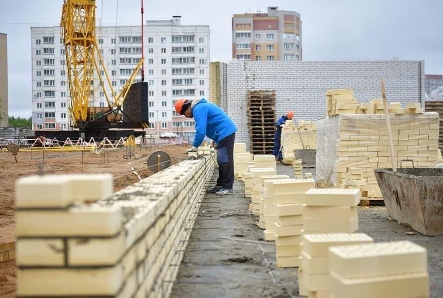 Во Фрунзенском районе Ярославля строят ФОК для людей с ограниченными возможностями