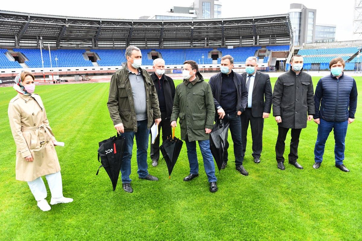 Представители РФС оценили состояние газона на стадионе «Шинник» в Ярославле