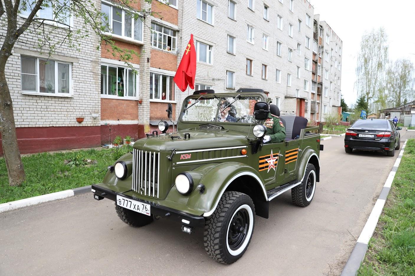 В Ярославле для проекта «Машины Победы» восстановили ретроавтомобили: фото