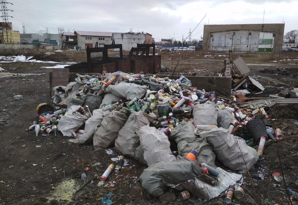 В Ленинском районе Ярославля после сообщений жителей в соцсетях ликвидирована свалка бытовых и промышленных отходов