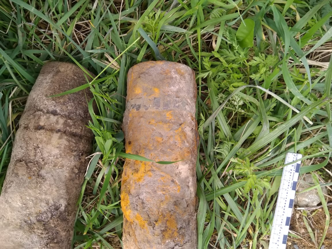 В Ярославском районе нашли два снаряда времен Великой Отечественной войны