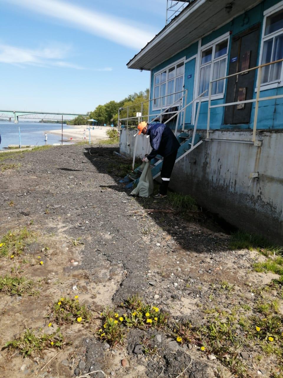 В Ярославле городские пляжи готовят к летнему сезону