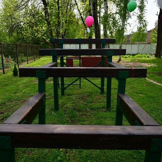 В Ярославле в школе имени Терешковой обустроили площадку для воркаута
