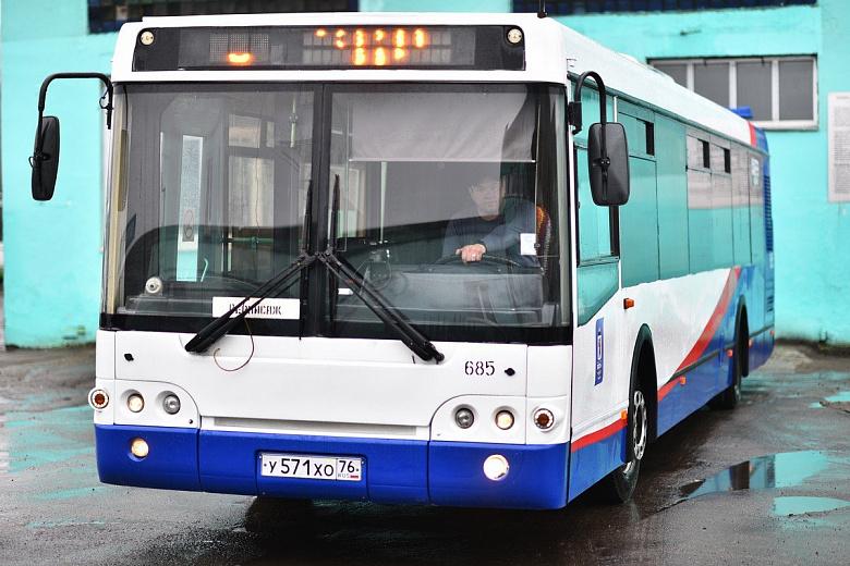 В Дзержинском районе Ярославля продлили два маршрута автобусов
