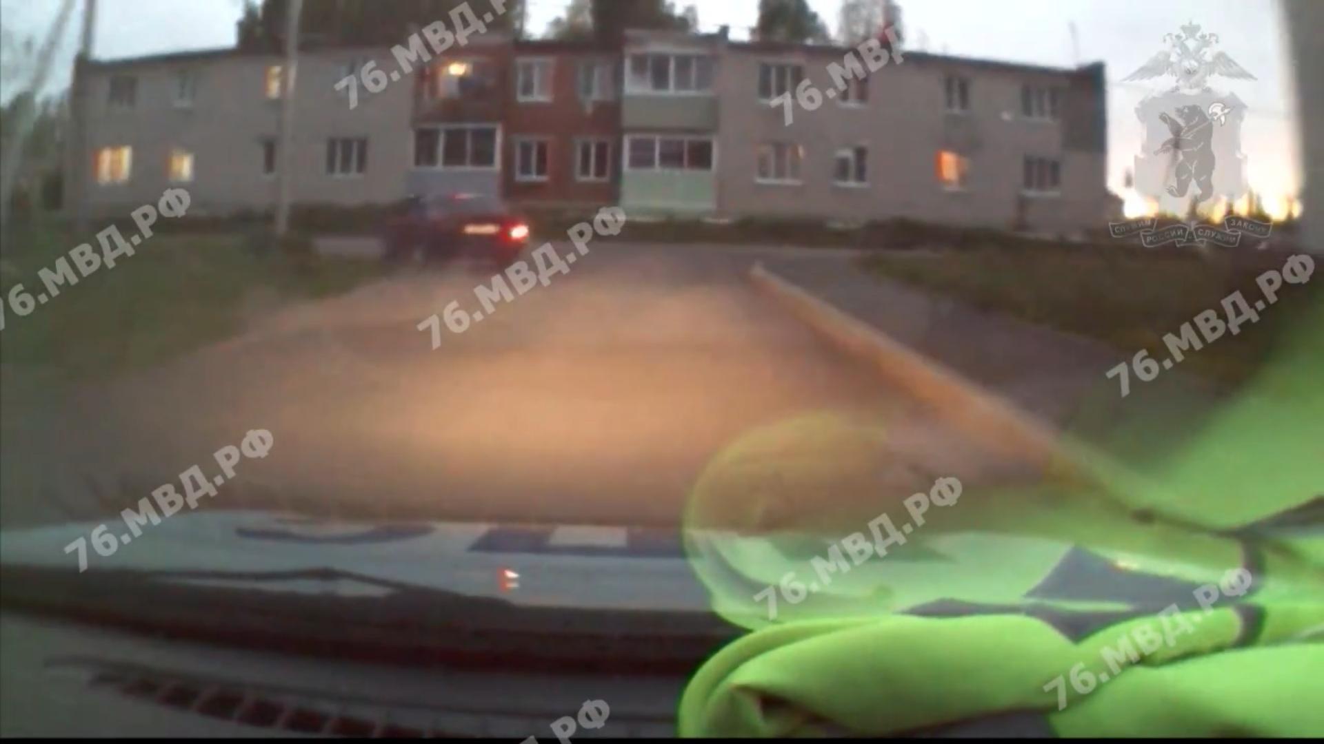 В Ярославской области в результате погони со стрельбой задержали пьяного лихача, сбившего пешехода