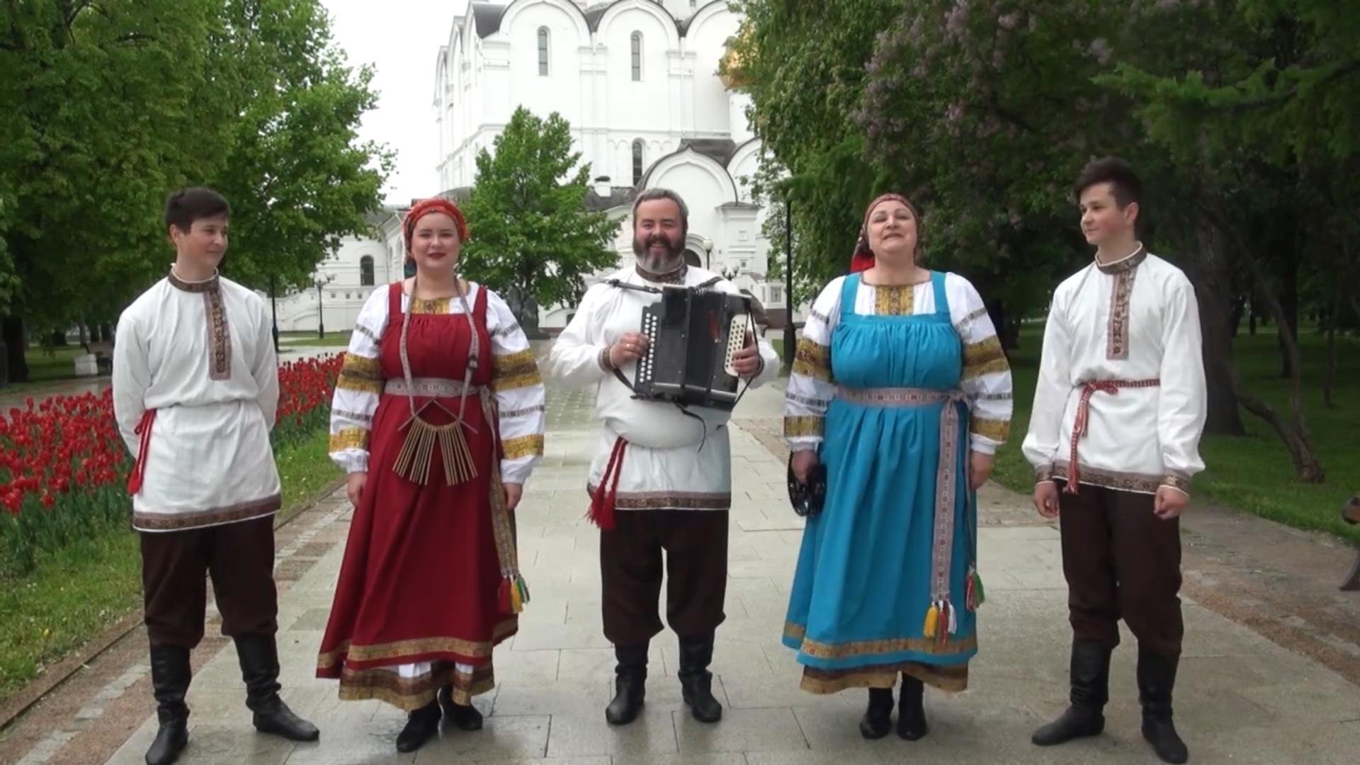 Ярославская семья присоединилась к всероссийской хоровой акции