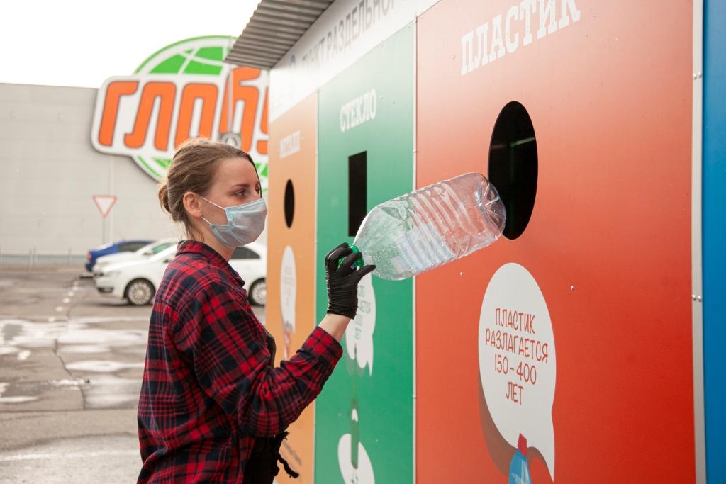 Первый пункт проекта «Принеси пользу своему городу» в Ярославле собрал за месяц 4,5 тонны вторсырья на переработку