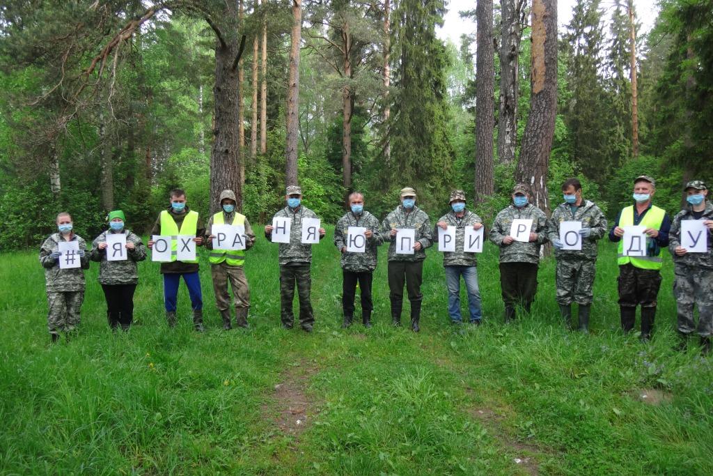 В День охраны окружающей среды специалисты лесной отрасли провели субботники в лесах