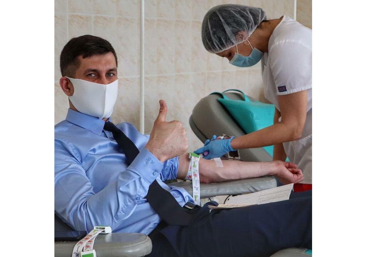 Спикер муниципалитета призывал ярославцев присоединиться к Всероссийской донорской неделе